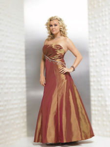 Plus Evening Dress (PWSJ052)
