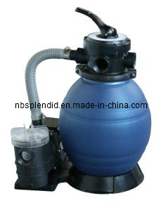 12 Inch Diameter Sand Filter with 0.35HP Pump with Pre-Filter