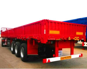 Side Wall Cargo Semi Trailer 50t pictures & photos