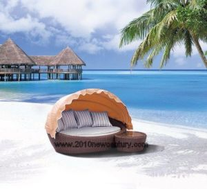 Rattan Furniture/Garden Furniture/Wicker Furniture/Outdoor Furniture/Chaise Lounger (5004) pictures & photos