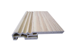 Flooring Accessories Eco-Friendly Green Material WPC Skirting (PT-8015C) pictures & photos