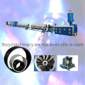 Plastic HDPE Gas and Water Pipe Extrusion Line with SGS/Ce Certificate Extruder (TPEG-160) pictures & photos