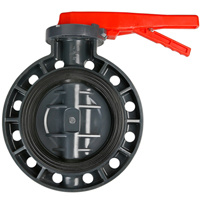 PVC Butterfly Valve JIS Standard 10k pictures & photos