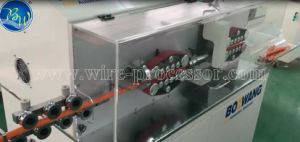 Bzw PLC System Cuttingand Stripping Machine for Large Cables pictures & photos
