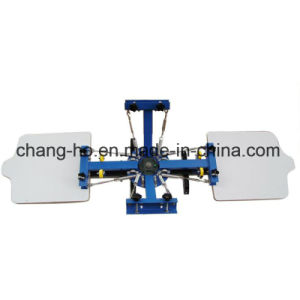 4 Color Manual Textile Screen Printer Machine pictures & photos