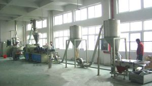 PVC and WPC Hot Cutting Pelletizing Line (XDZL)