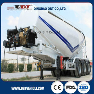 3 Axle 40cbm Bulk Cement Tanker Semi Trailer pictures & photos