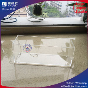 Clear Perspex Acrylic Make up Brush Holder pictures & photos