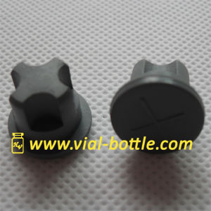 Butyl Rubber Stopper for Medical Glass Vial with Screw Neck pictures & photos