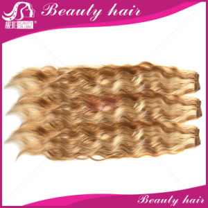 3PCS 7A Malaysian Virgin Hair Extension 613 Blonde Kinky Curly Cheap Russian Honey Blond Curly Hair Weaves for Sale pictures & photos