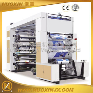 6-Color PE/PP/Paper/Non Woven Flexographic Printing Machine (NuoXin) pictures & photos
