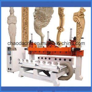 Versatile CNC Router for 3D Wood Carving (JCW1325R-8H) pictures & photos