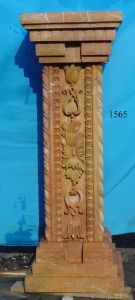 Marble Carving Column (CLN310) pictures & photos