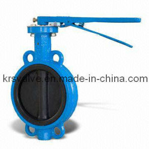 Wafer Type Butterfly Valve Lining Rubber Seat and Rubber Disc (D71J-16Z/J) pictures & photos