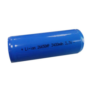 Lithium Battery of 26650 3.7V 3400mAh pictures & photos