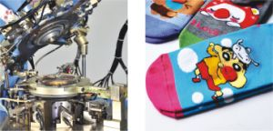 Weihuan (WH) Computerized Naked Spandex Socks Knitting Machine (WEIHUAN-6FR) pictures & photos