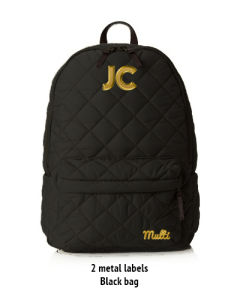 Quilted Casual Backpack for Girl pictures & photos