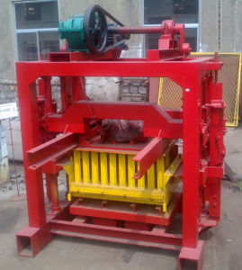 Qmr4-40 Semi Automatic Small Manual Concrete Cement Hollow Brick (QMR4-40)