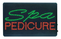 LED Signs (Spa & Pedicure)