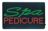 LED Signs (Spa & Pedicure)