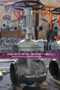 Bolted Bonnet Gate Valve Class300 Bw Ends pictures & photos