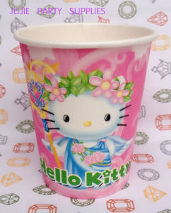 250ml 9oz Happy Birthday SGS Christmas Party Paper Cups