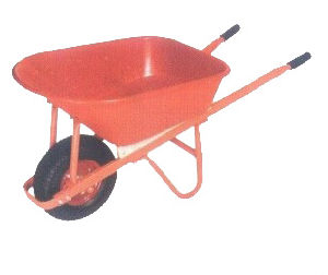 Square Handle with Big Tyre Wheel for Wheel Barrow (WB7802) pictures & photos
