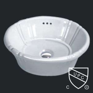 Drop in Basin with upc,changie ceramic sink (1021) pictures & photos