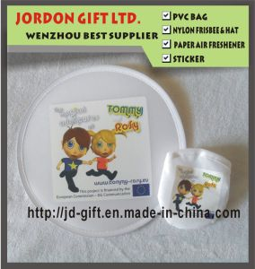 Custom Colorful Printing Cheap Polyester 190t Foldable Frisbee pictures & photos