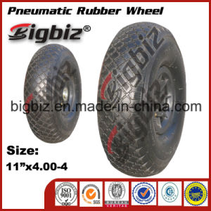 "High Poroformance 11""X4.00-4 Rubber Barrow Wheel pictures & photos"