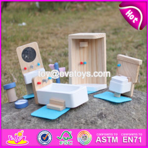 New Design Kids Pretend Play Toys Wooden Miniature Dollhouse Furniture W06b054 pictures & photos