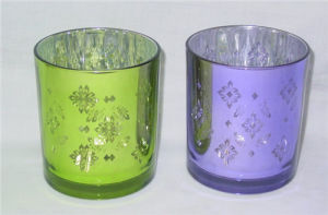 Pillar Silver Electroplating Candle Holder pictures & photos