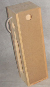 Wooden Wine Bottle Box (TG06039)