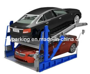 Two Levels Hydraulic Car Parking System