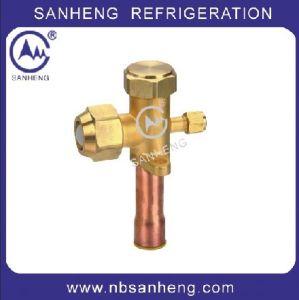 Refrigeration Brass Service Valve, AC Valve Air Conditioner Parts Valve pictures & photos
