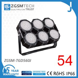 High Power High Mast Light 560W LED Flood, Airpot and Area Lighting pictures & photos