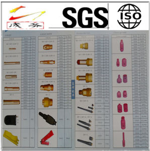 Welding Torch, Welding Nozzle, Collet and Collet Body Welding Consumable