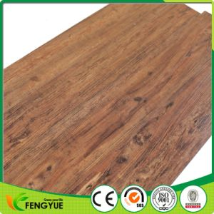 2017 New Walnut Color PVC Wooden Flooring pictures & photos