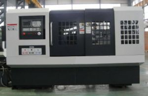 Horizontal CNC Lathe with Flat Bed (Flat CNC Lathe CAK6166 CAK6180) pictures & photos