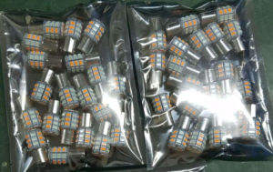 Amber Ice Blue Canbus 3157 Switchback LED pictures & photos