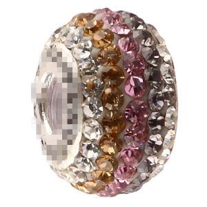 Authentic Swarvoski Crystal 925 Bead Choc. Chip