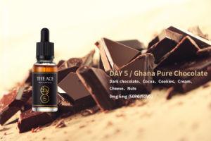 Day 5/ Ghana Pure Chocolate Flavor E Liquid / DIY E Liquid /British Style E Juice pictures & photos