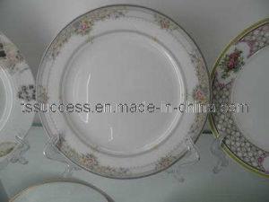 Fine Bone China Round Shape Fashion Design Dinner Plate