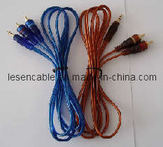 3.5mm Stereo Plug to 2RCA Cable pictures & photos