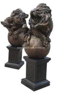 Bronze Casting Lion Sculpture (SL516) pictures & photos