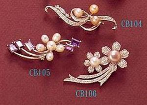 Pearl Brooches pictures & photos