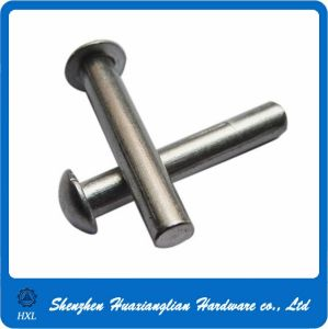OEM Custom Flat Mushroom Head Stainless Steel Rivet pictures & photos