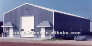 Certified: Light Pre Fabricated Steel Structure Commercial Building Warehouse pictures & photos
