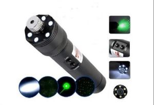 Green Laser Star Projector With LED