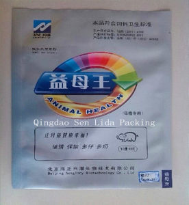 Plastic Pet Treat Packaging Bag with Silver Printing pictures & photos